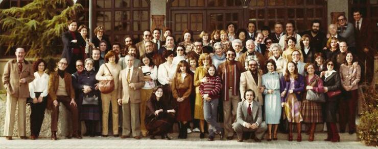 La profesión del doblaje de Madrid y Barcelona reunidos por San Juan Bosco. Zaragoza, 1980.